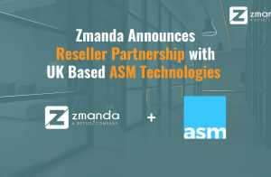 Zmanda Announces Reseller Partnership with UK Based ASM Technologies
