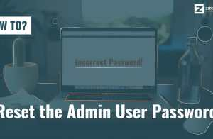 Reset the Admin User Password