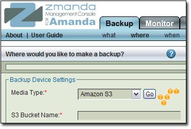 Amazon S3 on ZMC