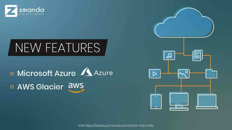 New Azure and AWS Support Features Coming to Zmanda 4.0