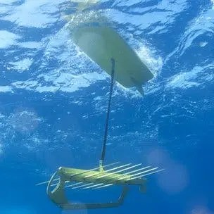 Each Wave Glider will collect valuable data about the status of the Pacific Ocean's current health.