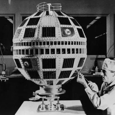 Telstar 1 was launched on top of a Thor-Delta rocket on July 10, 1962. It successfully relayed through space the first television pictures, telephone calls, fax images and provided the first live transatlantic television feed.