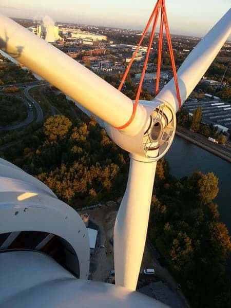 TimberTurbine wood wind turbine