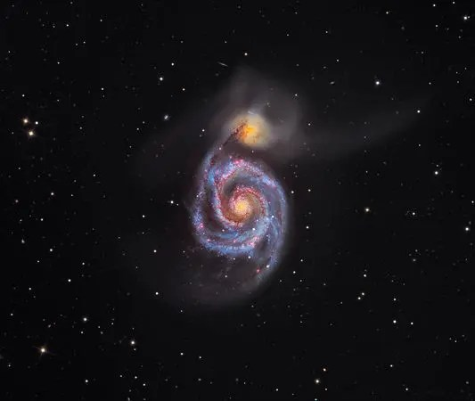 5 whirlpool galaxy