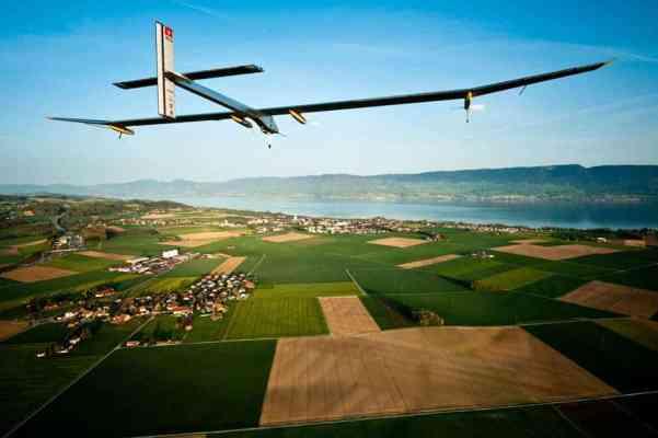 Solar Impulse solar powered plane