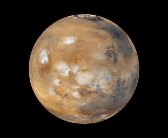Mars Global Surveyor photo of mars 1999