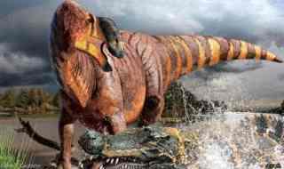Artist impression of Rhinorex - the Jimmy Durante of dinosaurs. Image: Julius Csotonyi/NC State University