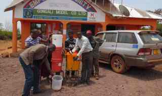A low-cost sustainable water filter system developed by Dr Askwar Hilonga from the The Nelson Mandela African Institute of Science & Technology, Tanzania. The system was one of the 12 science projects shortlisted for the Africa Prize for Engineering Innovation, sponsored by the Royal Academy of Engineering (RAEng).
