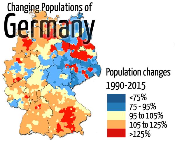 germany population change