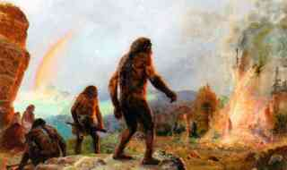 Neanderthal fire