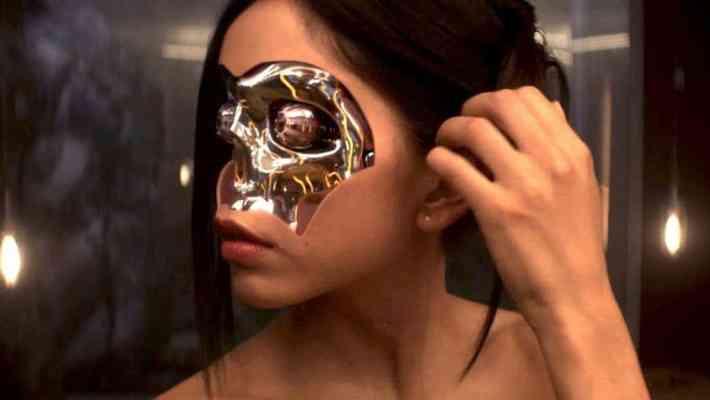 Still from the movie Ex Machina (2015).