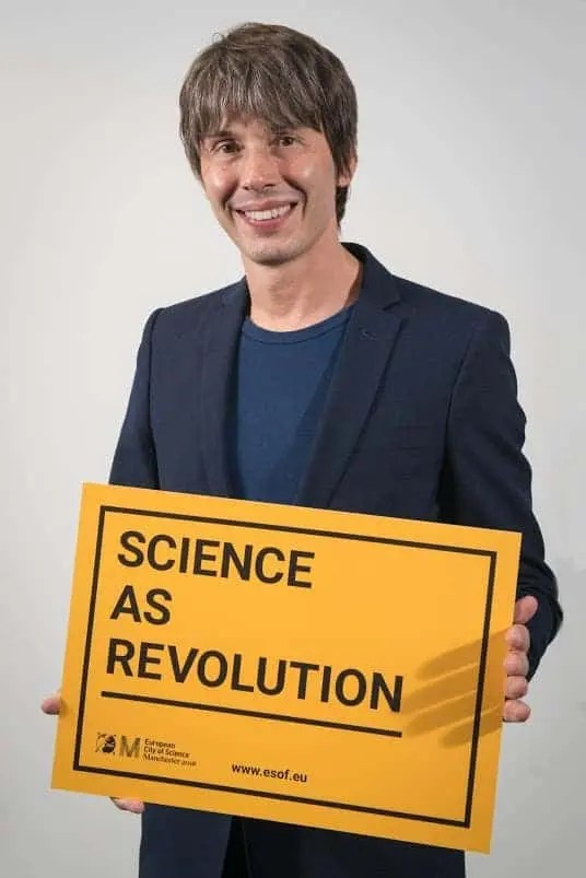 Professor Brian Cox at the EuroScience Open Forum at Manchester Central, in Manchester, United Kingdom on Sunday 24th July 2016. Matt Wilkinson Photography for ESOF.