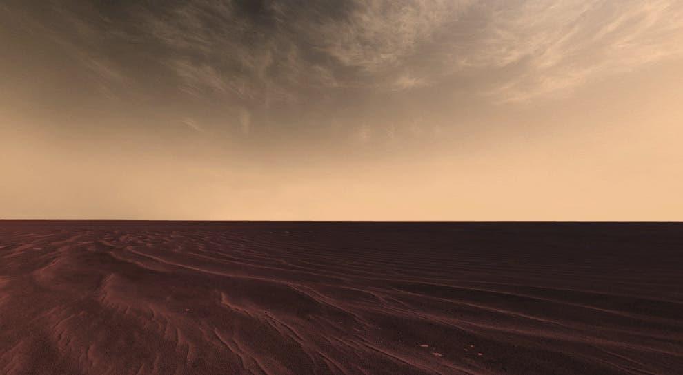 Mars sky