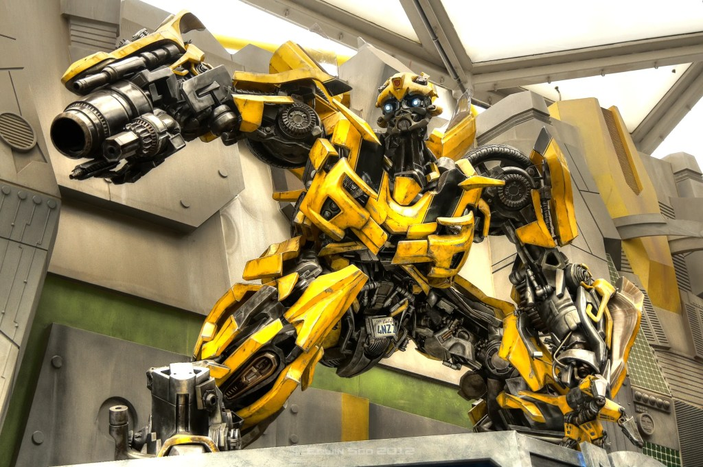 Transformers BumbleBee. Credit: Wikimedia Commons