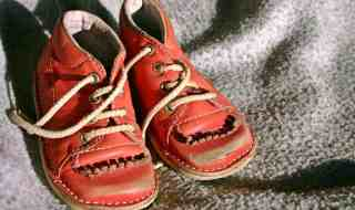 Children shoes.