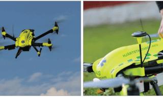 Defibrillator drone.
