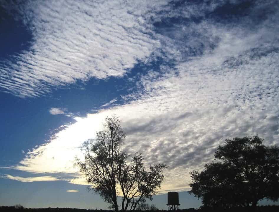 Sheets of stratus clouds. Credit: Pixabay, Bluesnap.