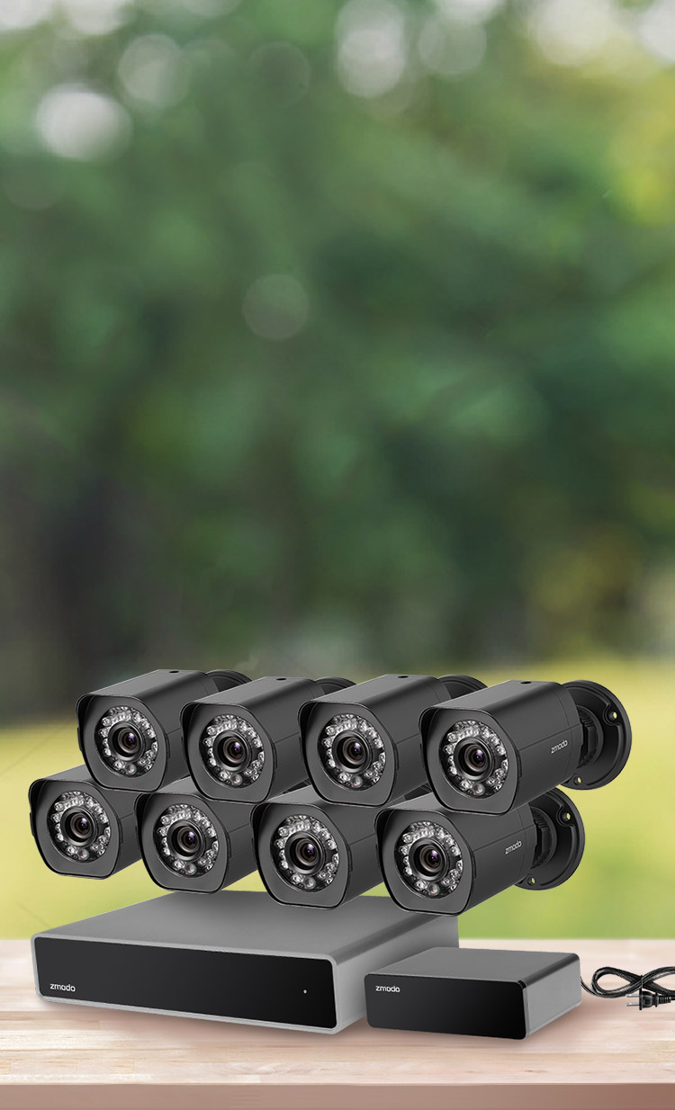 hight resolution of and business security camera system