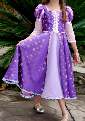Come fare un costume Rapunzel