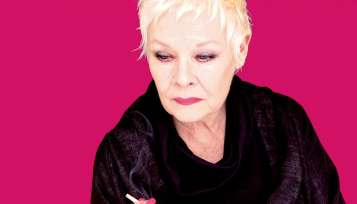 Judi Dench as Mona Carvell in Sally Potter's Rage