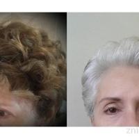 Pola wytrwała! Siwe włosy ujęły lat i dodały pazura.