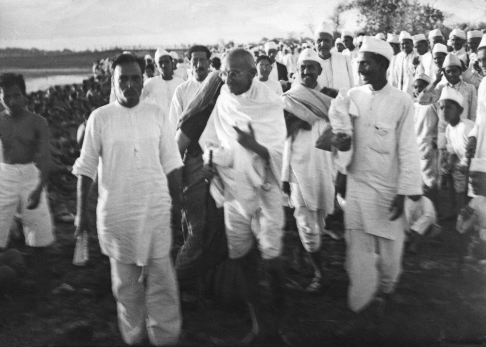 Image result for gandi image marching to the sea