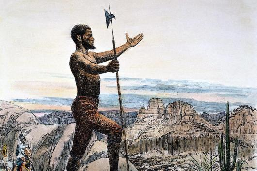 Esteban, a Captive of Spanish Explorers, Led an Eight-Year, 3,500-Mile Trek Across the Southwest and Mexico.
