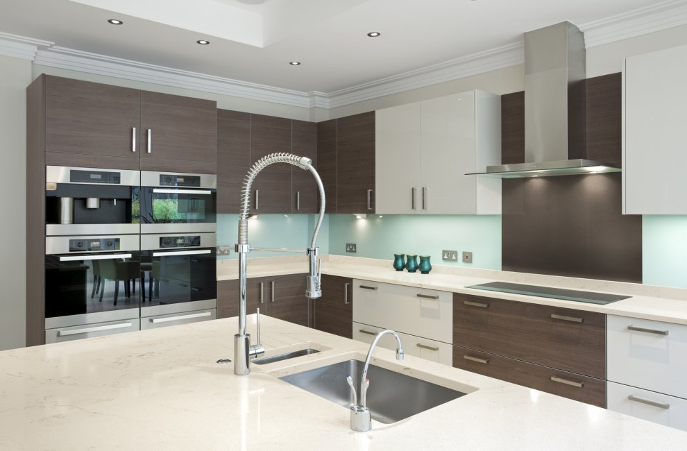 Kitchen  Corian quartz