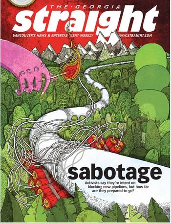 Sabotage in BC. (c) 2014 Georgia Straight