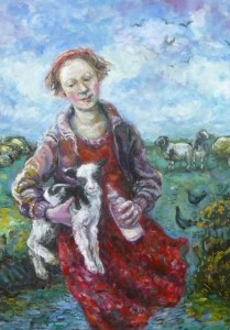 The little Shepherdess.