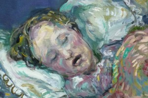 Detail from Sleep.