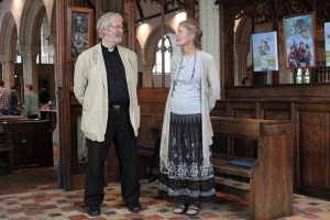 Father Peter & Zoe Godolphin chapel.