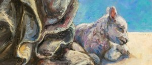 Lamb. Detail St Breacca Madonna