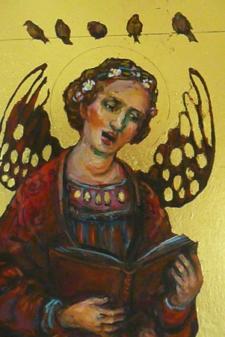 3. 188. Angel singing to birdsjpg copy