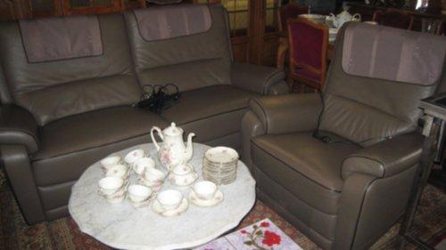 meubelen  Kwaliteits lederen salon met RELAX  Zoekertjesnet