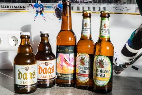 Glutunfreie Biersorten (Daas, Lebensfreude, Schnitzer)