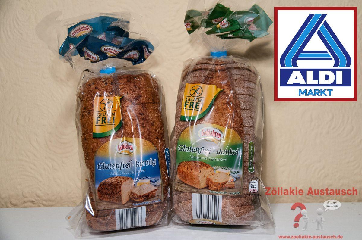 Glutenfreies Brot bei ALDI Nord - Achtung vor möglicher glutenfreier Weizenstärke
