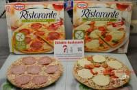 Die glutenfreien Dr. Oetker Pizzen: Salami und Mozzarella ...