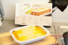 bofrost Lasagne nach dem Backen