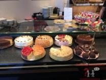 Die Kuchen und Torten beim Schenkel