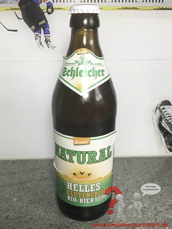 Glutenfreies Bier Schleicher NATURAL
