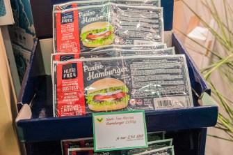 Neues Verpackungsdesing der NutriFree Burger Brötchen