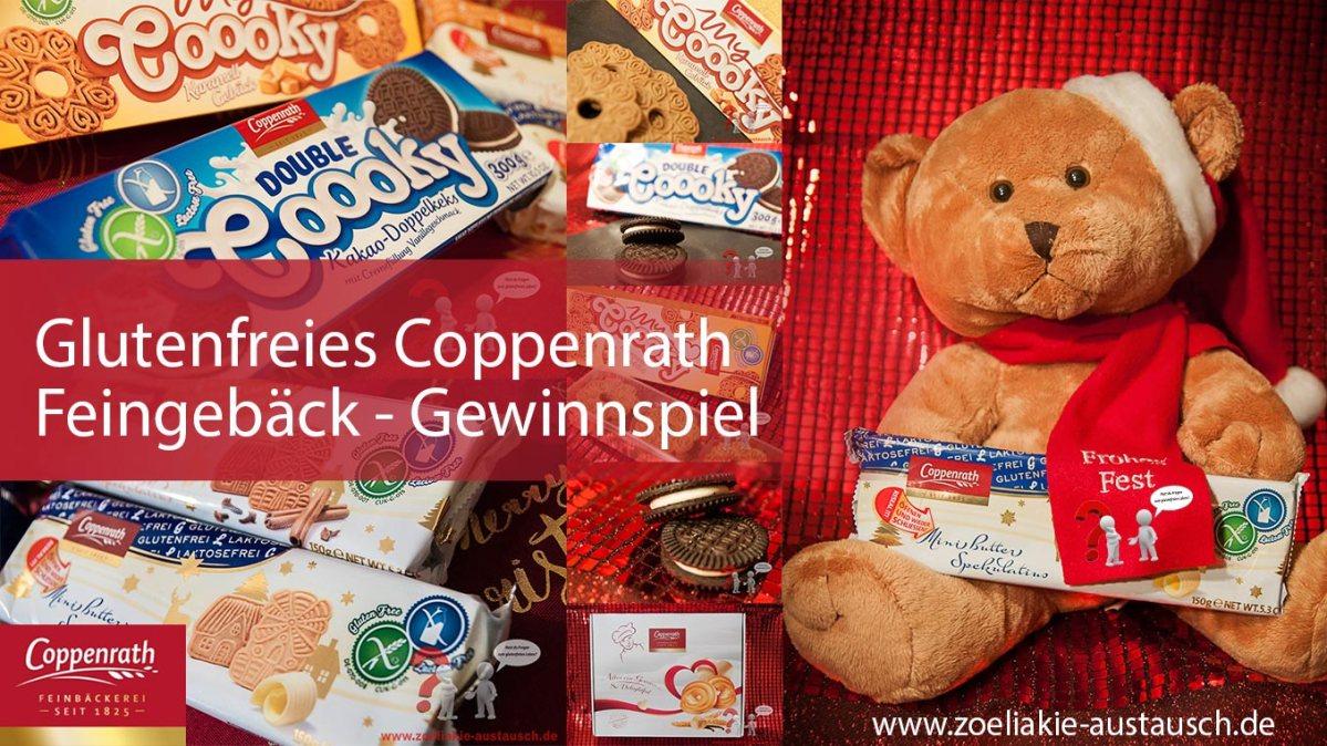 Glutenfreie Kekse und Spekulatius von Coppenrath - Großes Vorweihnachtsgewinnspiel