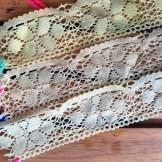 Sage Dye: Lace close up