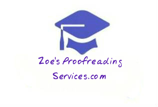 Zoe's Proofreading Services: Home