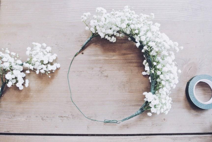 Flower Crown DIY - zoewithlove.me