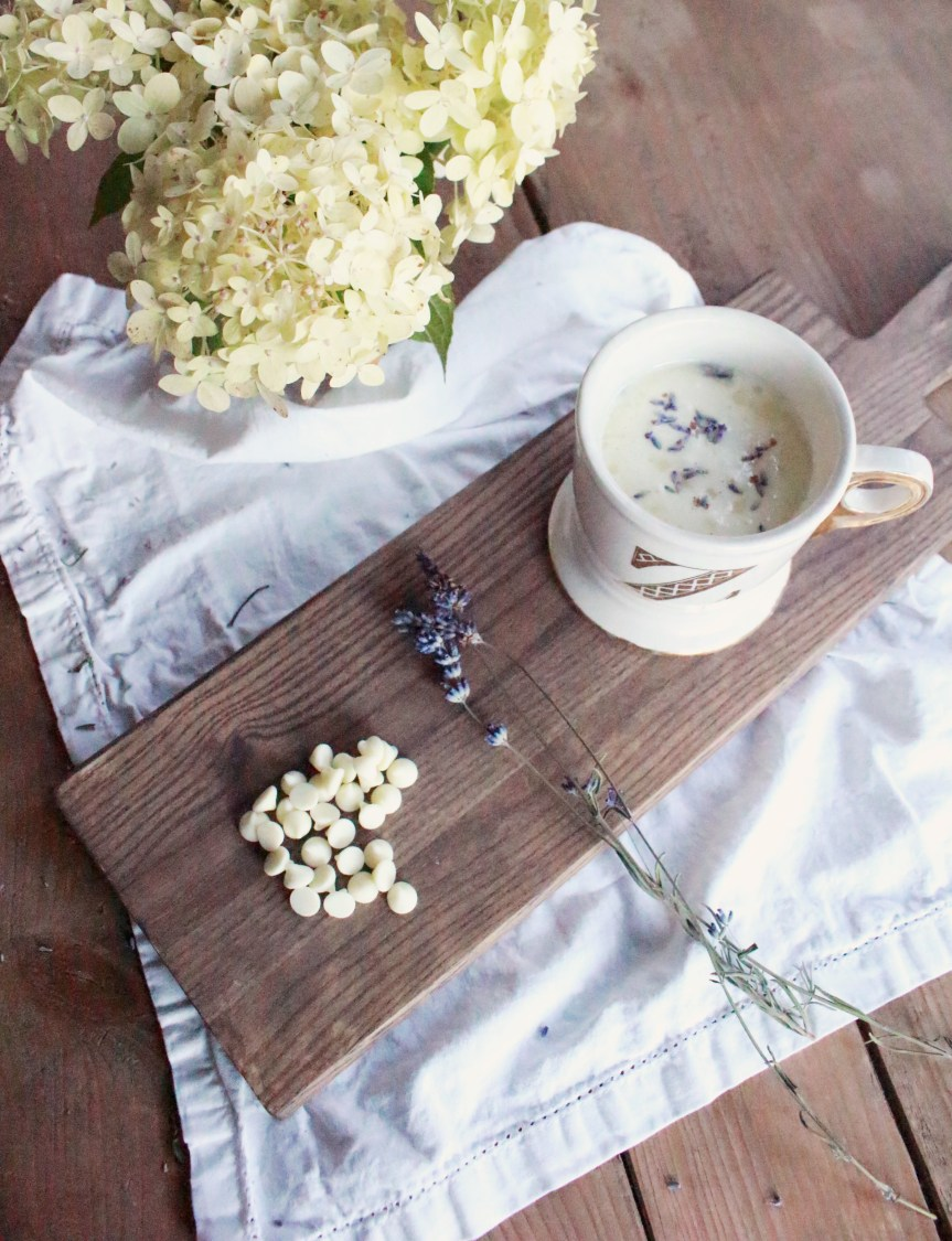 Lavender Honey White Hot Chocolate