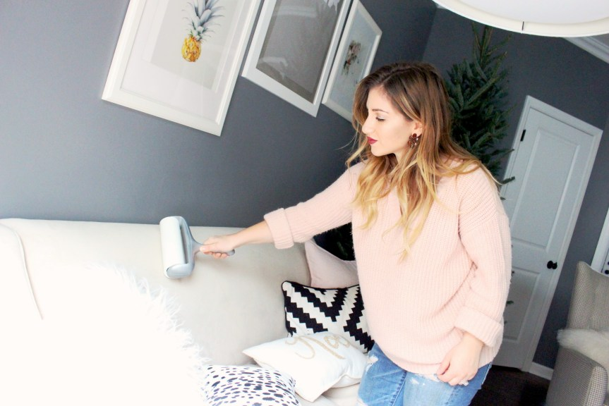 Blogger Zoe Namey of Zoe With Love shares her quick cleaning tips to keep a tidy space