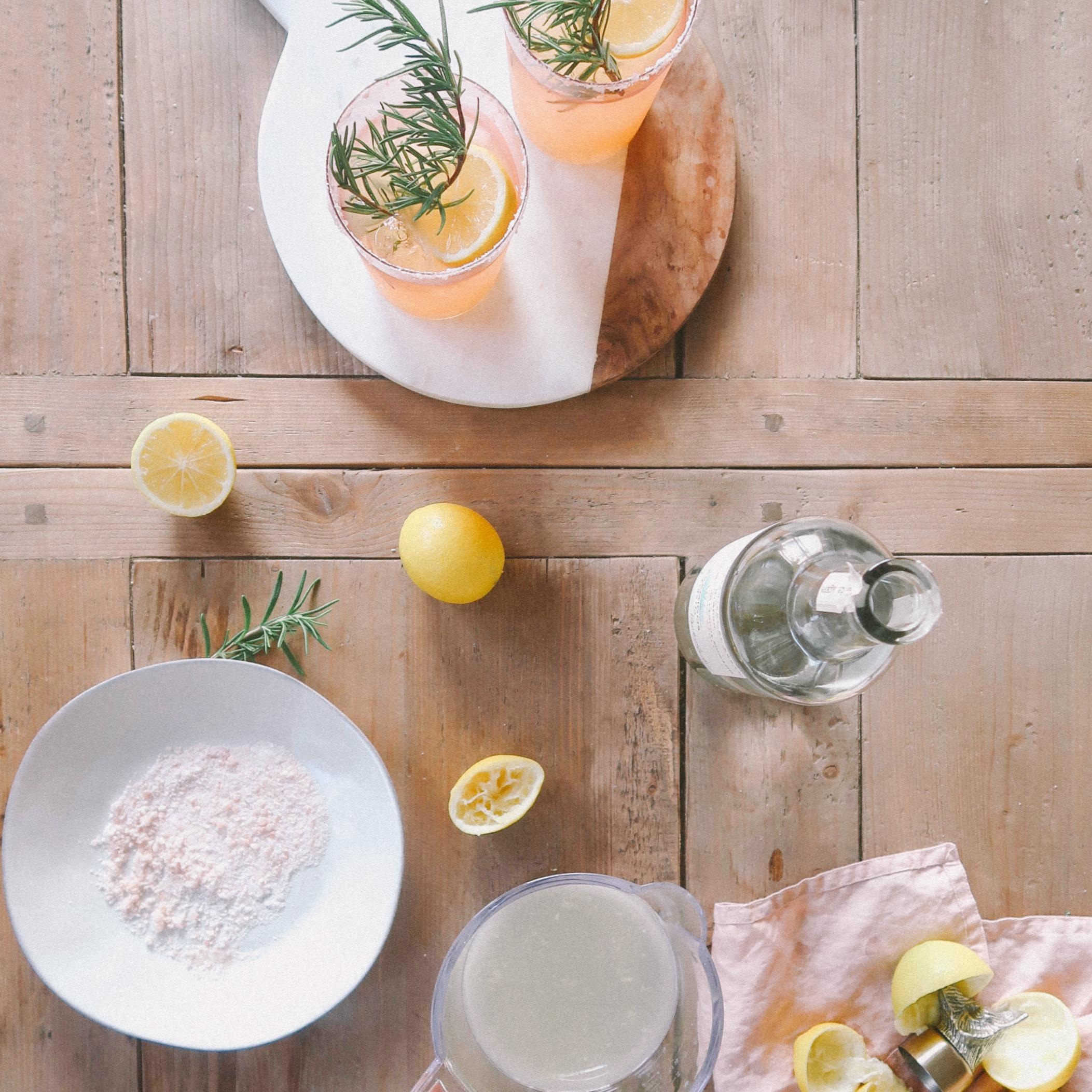 Meyer Lemon and Rosemary Margarita Recipe