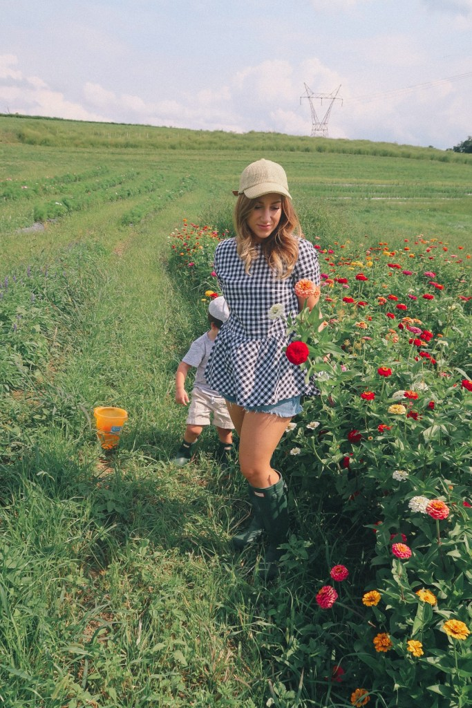 A Day at the Flower Fields: Pick your own flowers in Pittsburgh